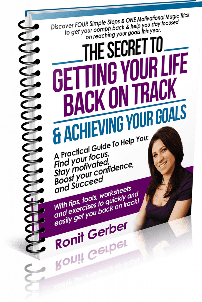 Free eBook, Discover The Secret To Getting Your Life Back on Track